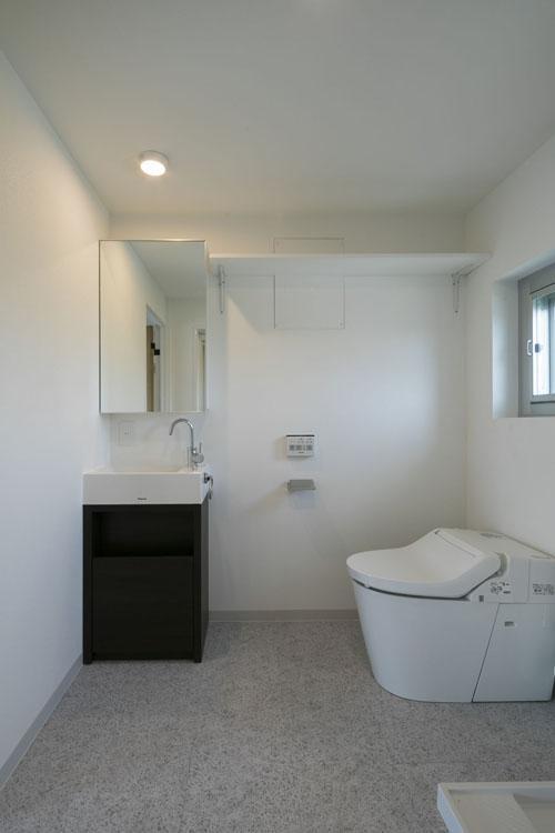 洗面、トイレ、脱衣室が一体