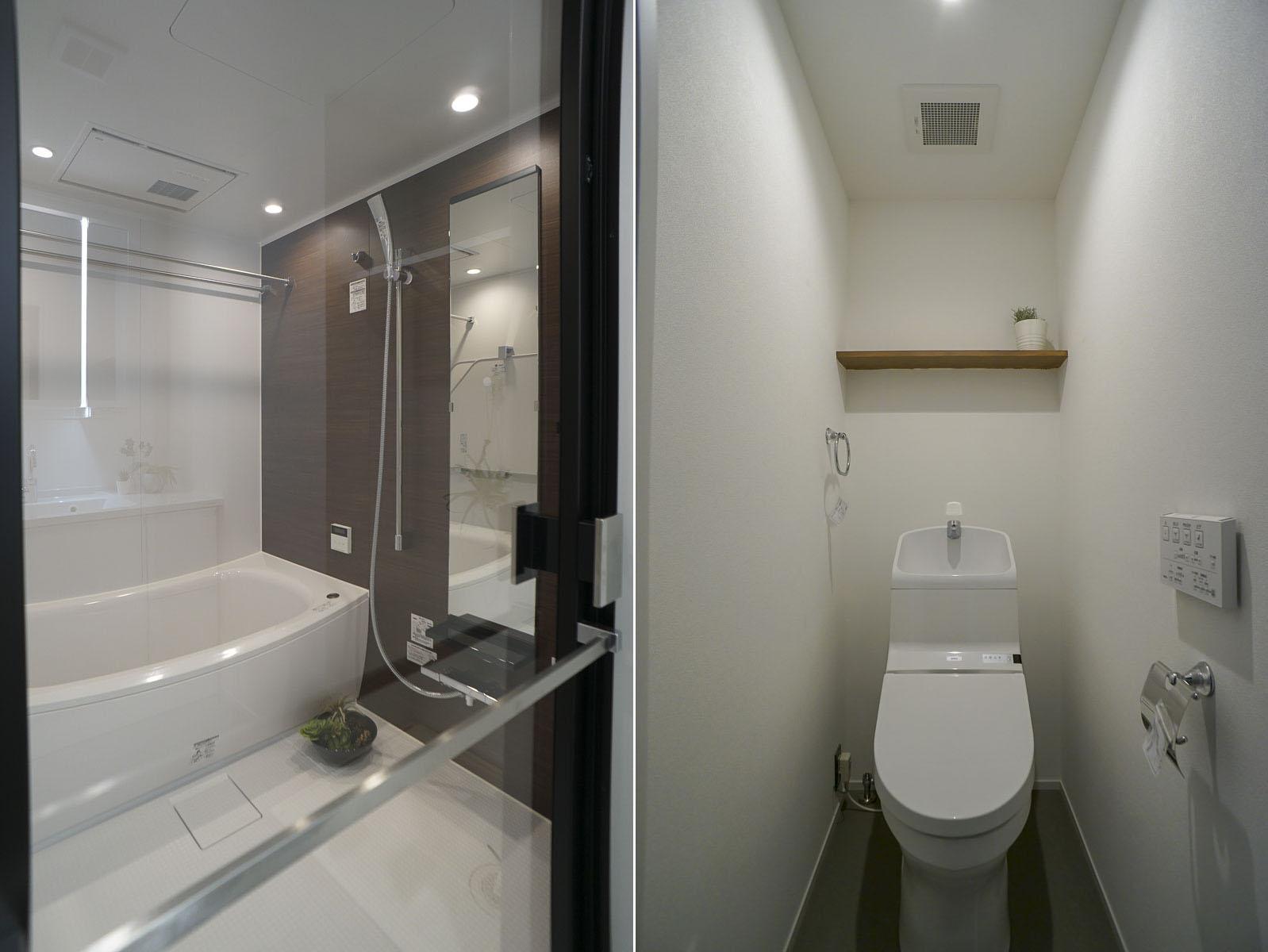 浴室とトイレ