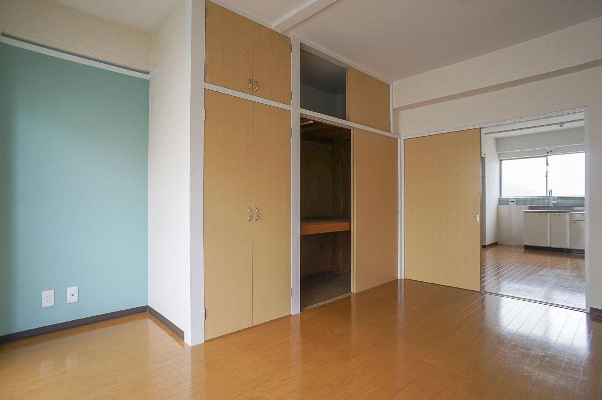302号室:収納が大きい