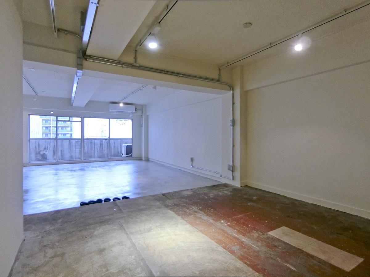 こちらが別部屋の改装された様子。間取りや広さは、今回の区画とあまり変わりません