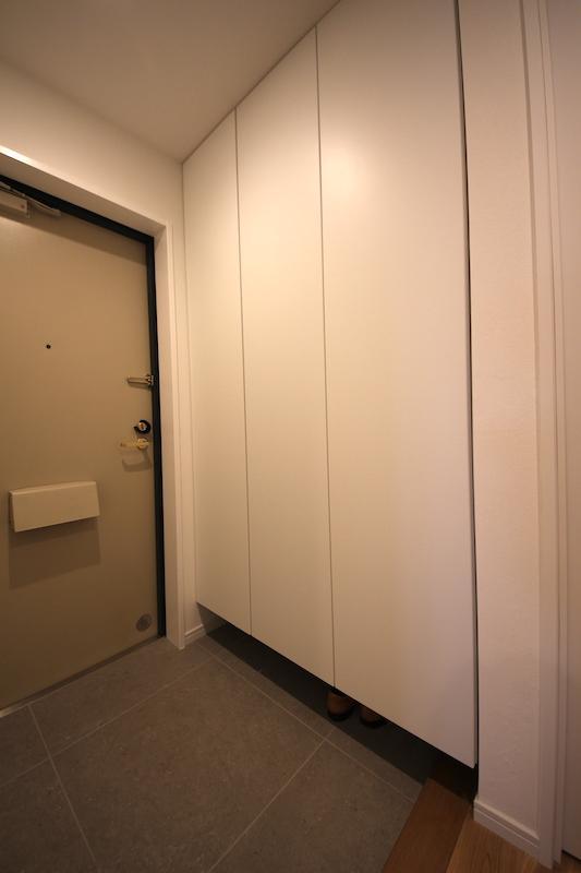 玄関横にはシューズがたっぷり入る収納が付いています