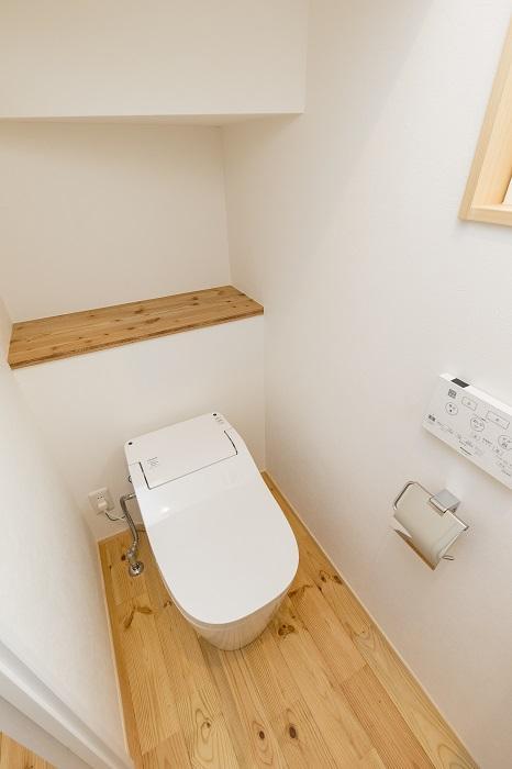 トイレはアラウーノが使用されている