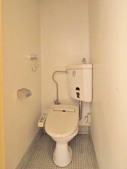 トイレはなかなか古い