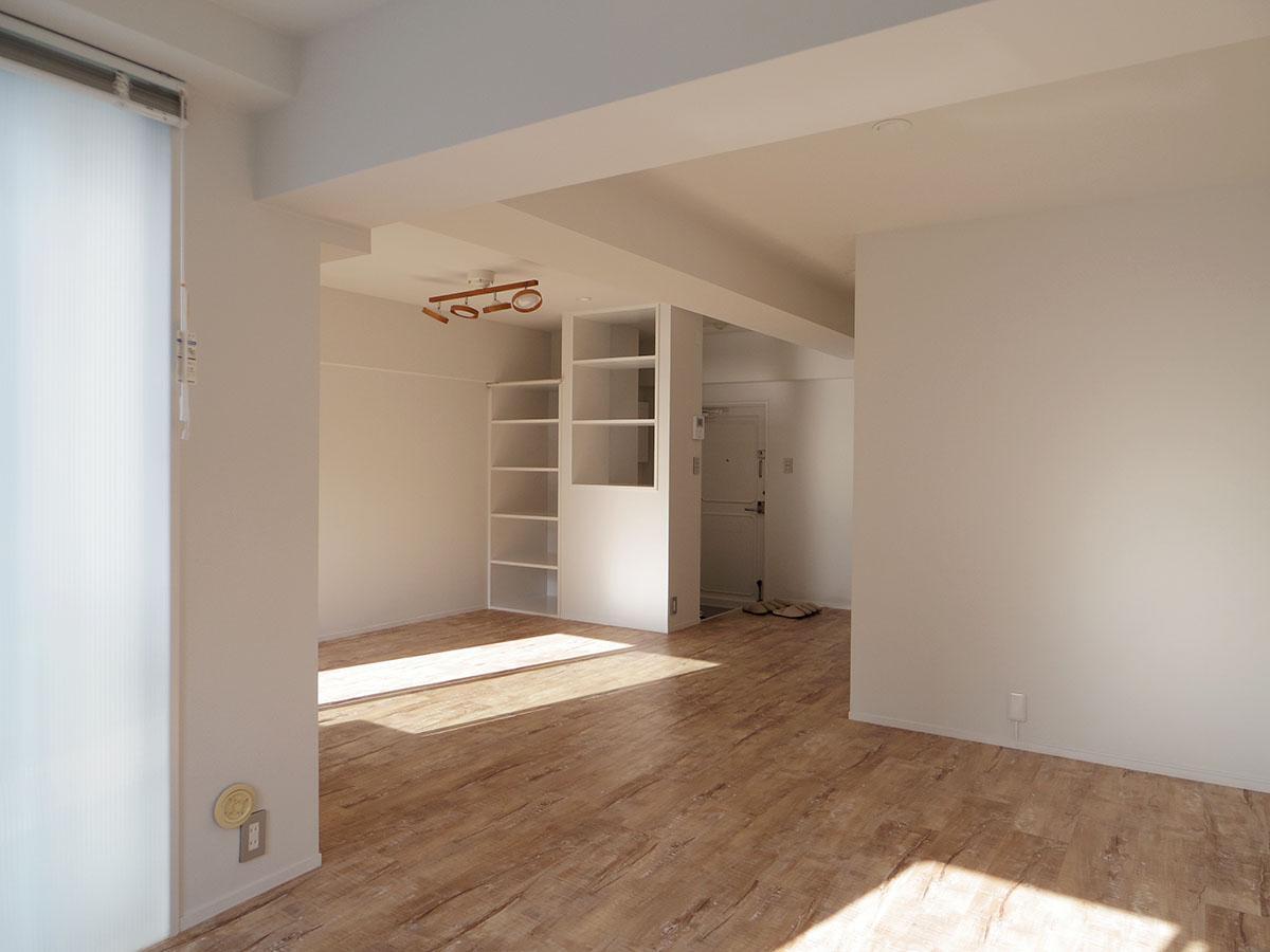 室内には太陽の光がしっかりと入る