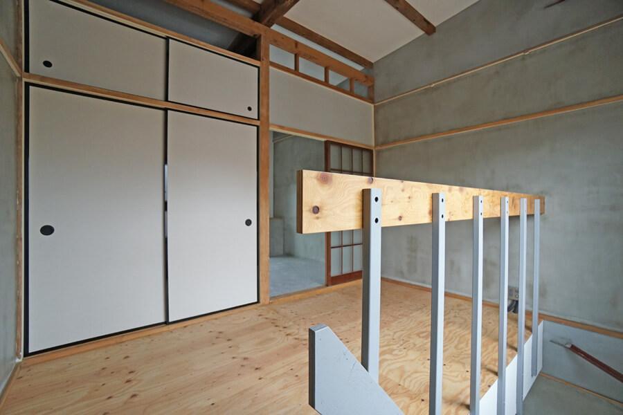 AタイプとBタイプの2階。個室2はリビングでも仕事や作業スペースでも良さそう