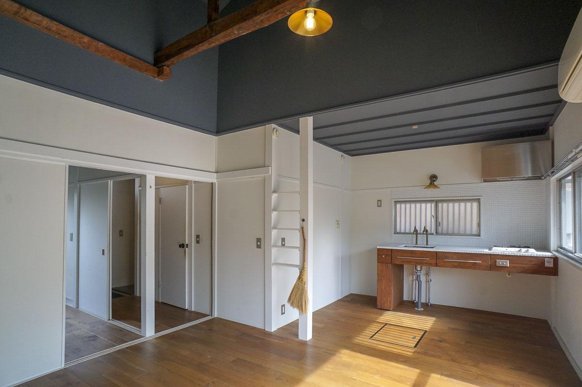 デッドスペースが少なく、天井の高さもあるので体感的に広く感じる