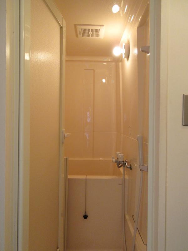 浴槽はかろうじて体育座りできる。シャワーだけでも良いかな。という人ではないと厳しいかも