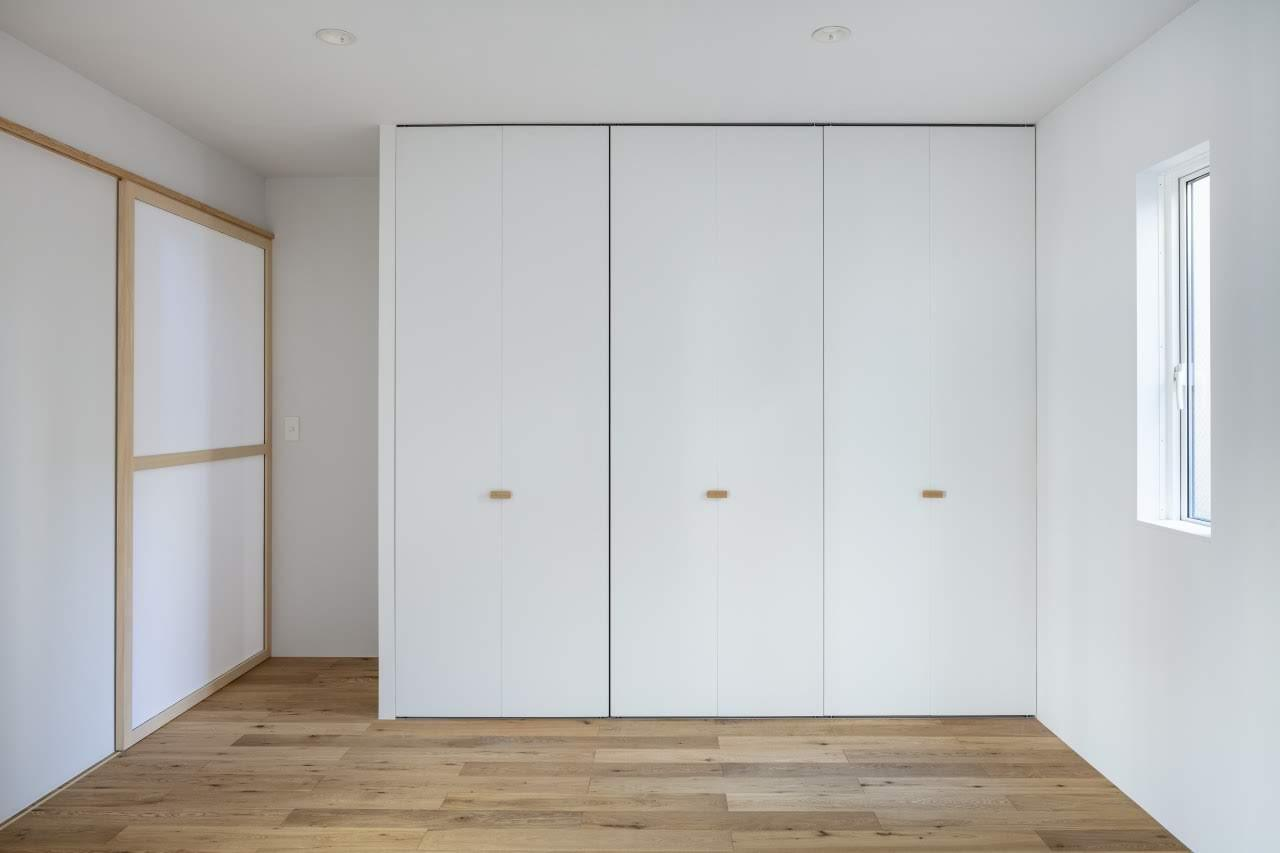 寝室2の収納