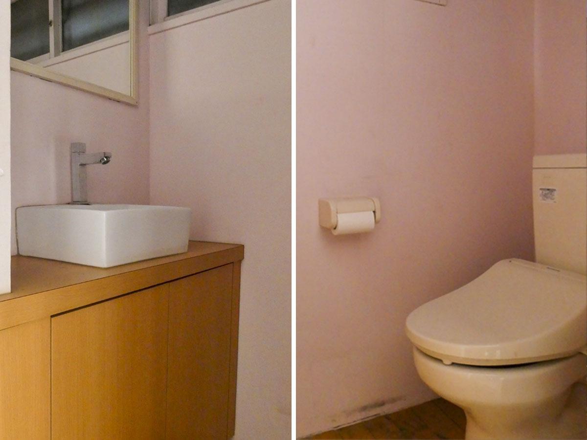 トイレ・洗面部分