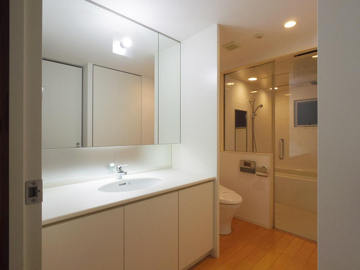 洗面と風呂は同室