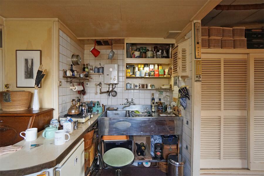 お気に入りの道具でいっぱいのキッチン。もちろん、使い勝手もいい