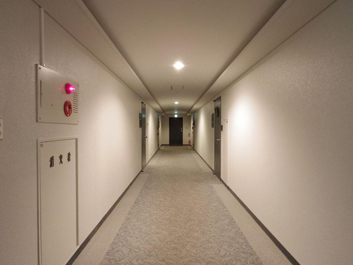 ホテルのような内廊下設計
