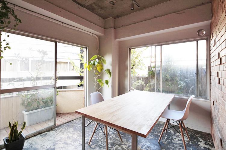 ちいさなオフィス in green (渋谷区松濤の物件) - 東京R不動産