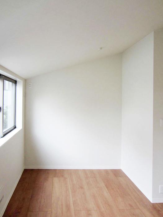 6.3畳の洋室(新築時の写真)