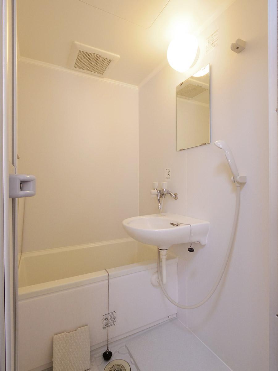風呂と洗面は一体型