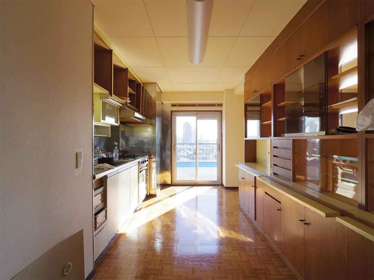 キッチンスペースも気持ち良い
