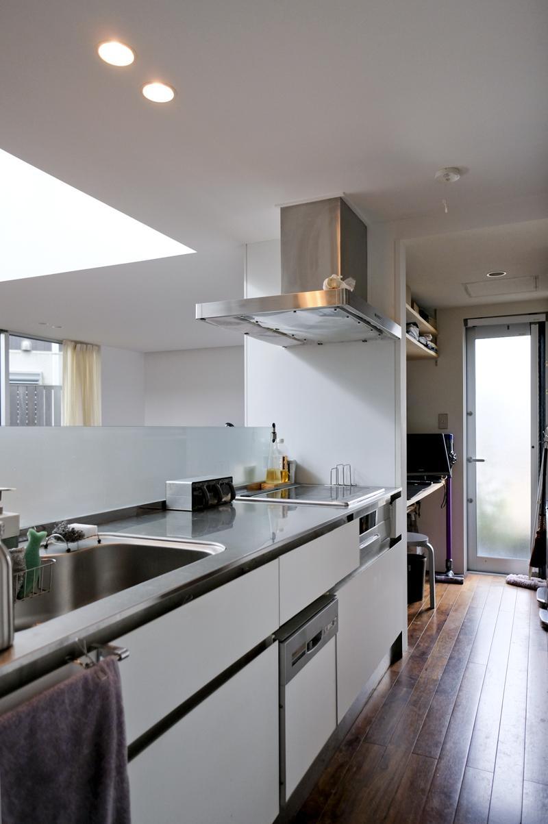 キッチンは、リビングが見渡せるようなつくり