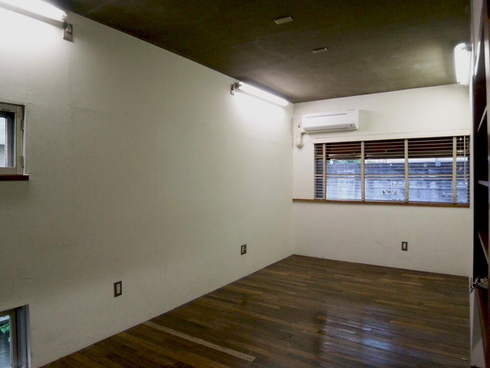 1階部分は、シンプルなつくり