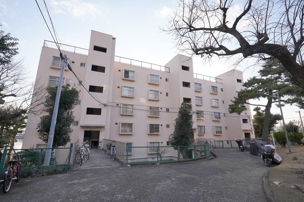 東京都住宅供給公社が建てたザ・昭和の団地です