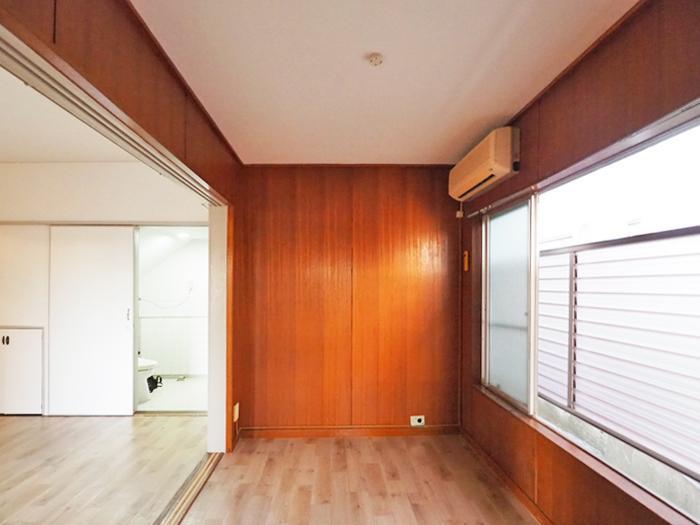 3.6畳の洋室。荷物置き場にしてもいいし、書斎のように使ってもいい