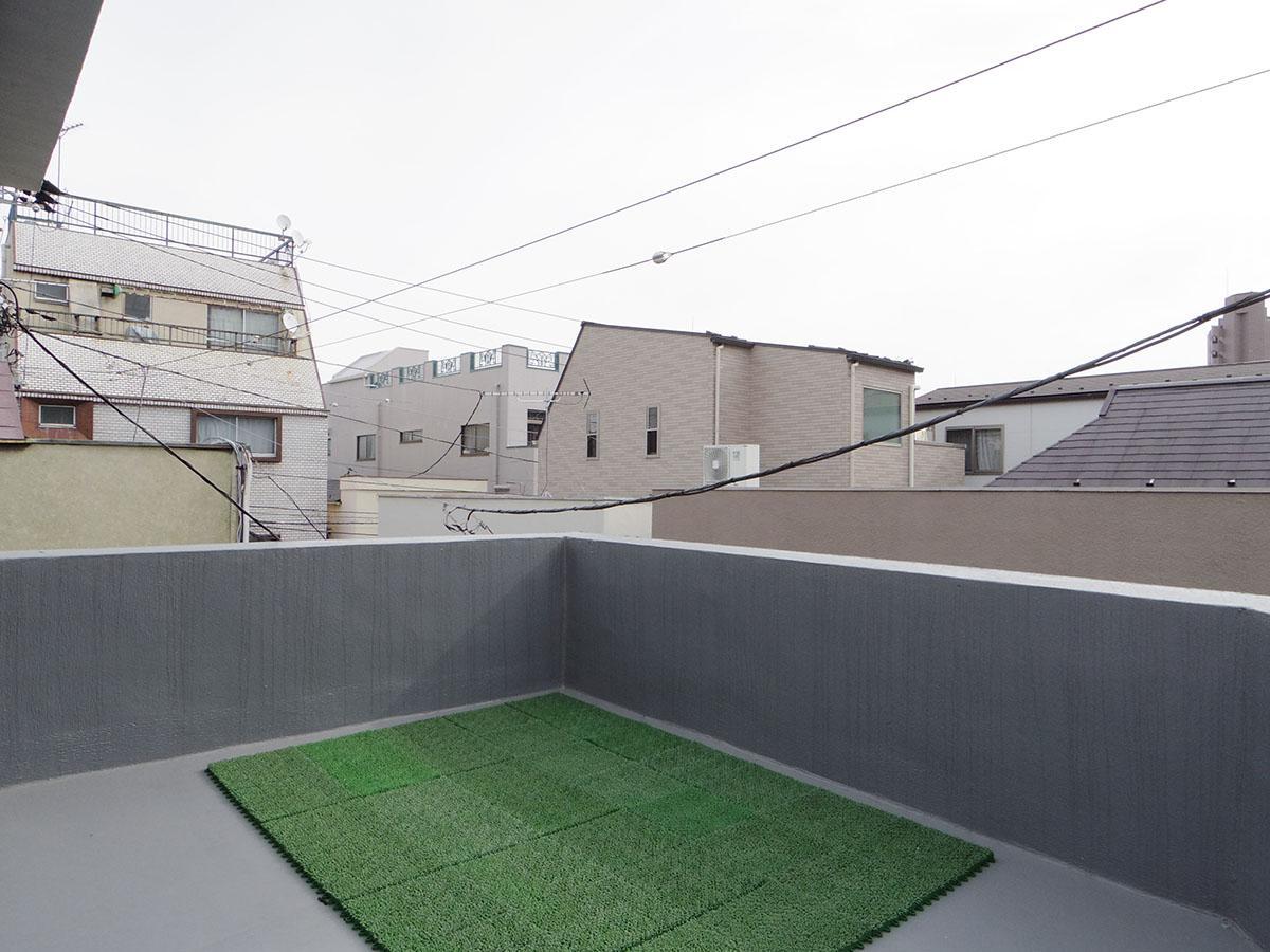 開放的な屋上