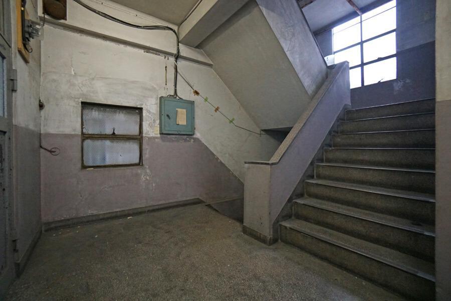 階段もいい雰囲気