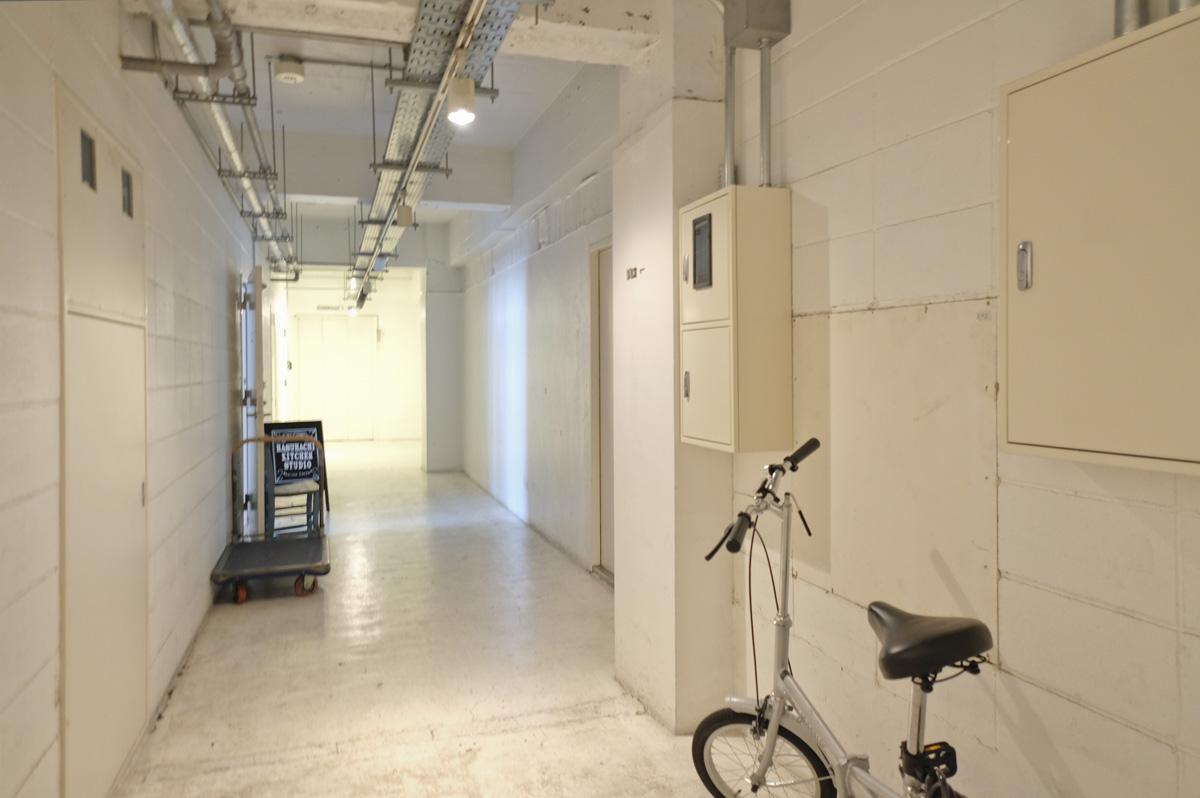 5階共用部:キッチンスタジオなどが入っています