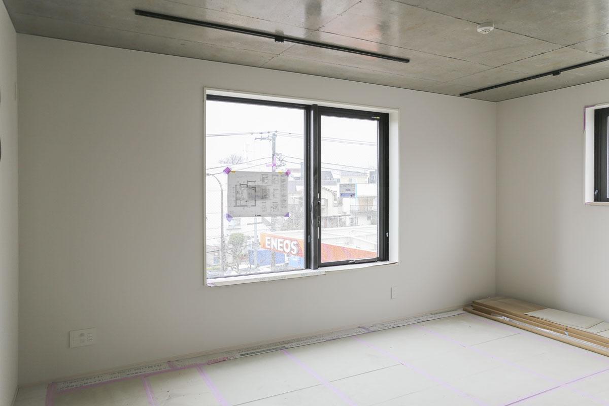 Aタイプの部屋 3面に窓のある1Kで、賃料がいちばんリーズナブル