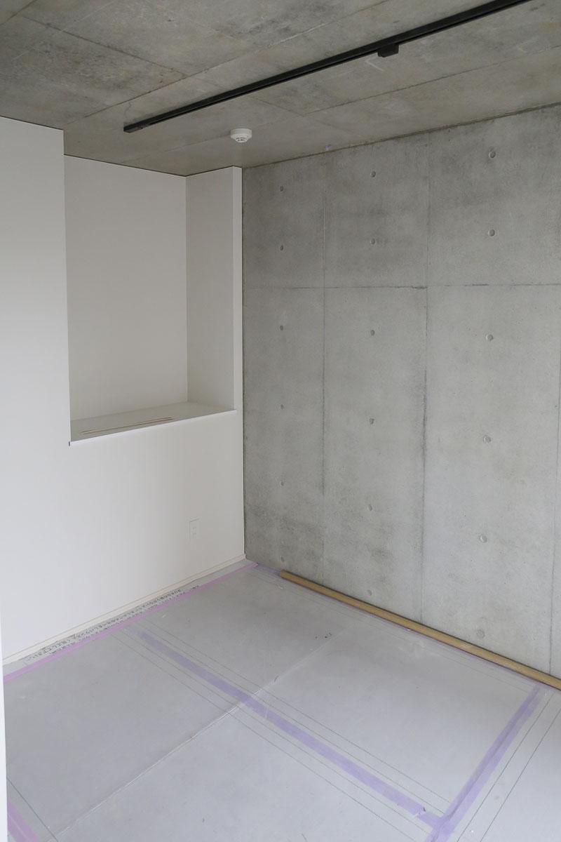 Dタイプの部屋 ベッドルーム