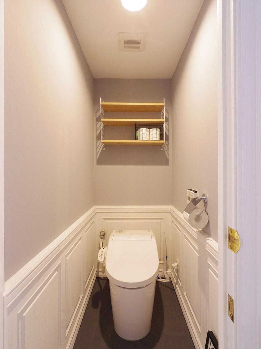 トイレの内装も抜かりなし