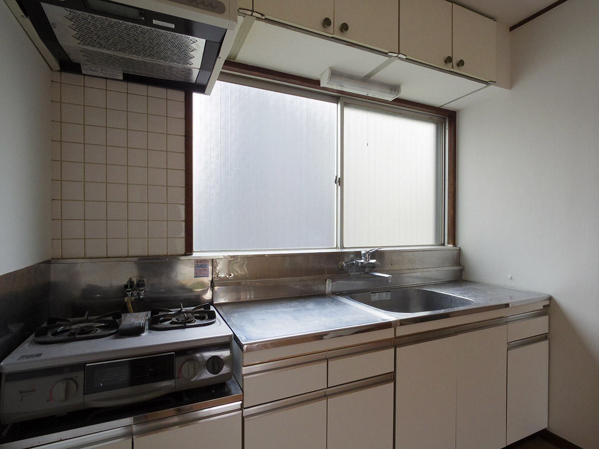 作業スペースの広いキッチン