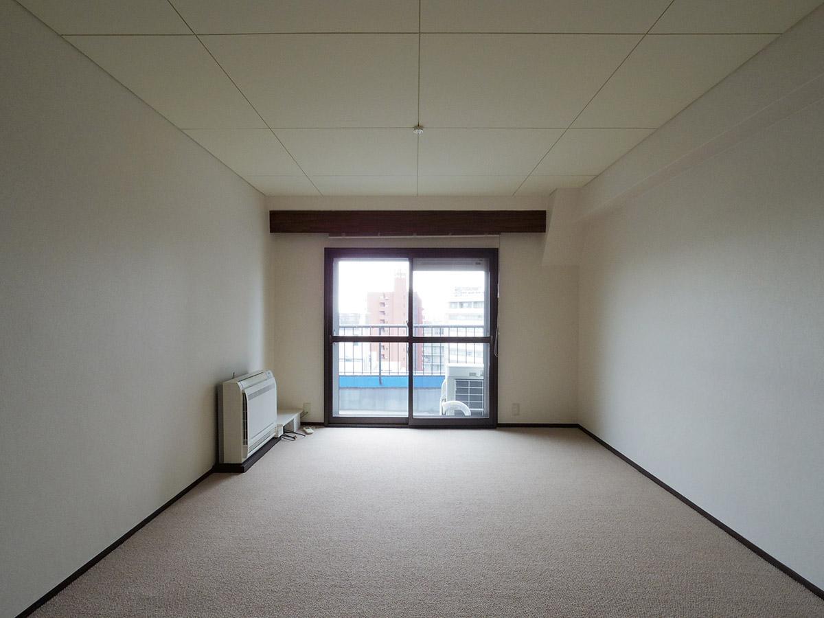 9畳の洋室。この部屋のみ二重サッシ