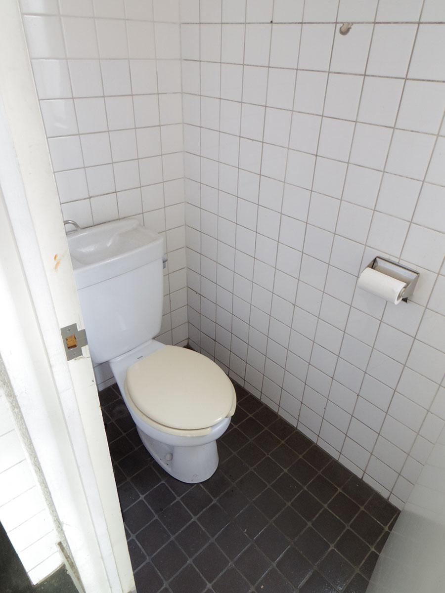 102号室のトイレ