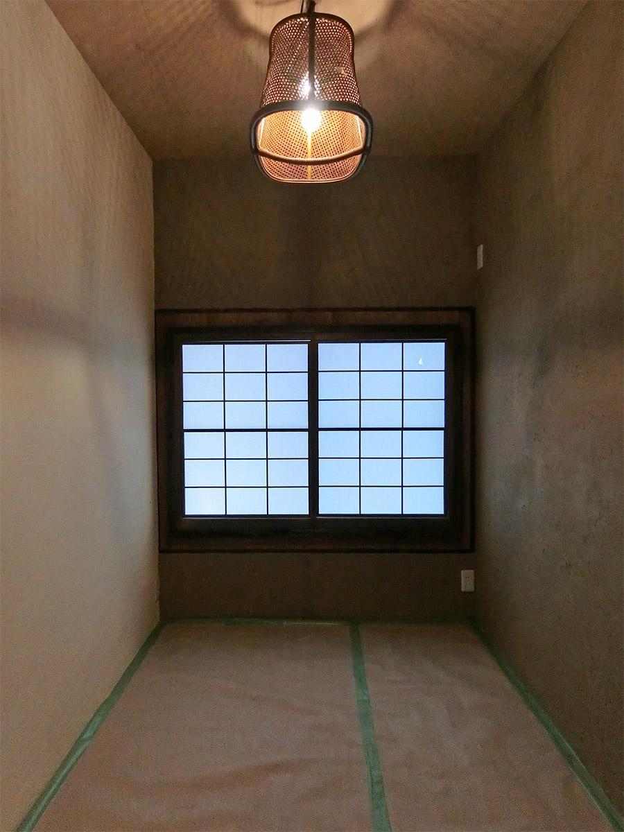 C号室:3畳よりも少し小さいサイズ(エアコン設置予定)