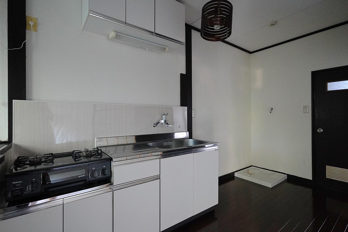(102号室)洗濯機置場も室内にあります