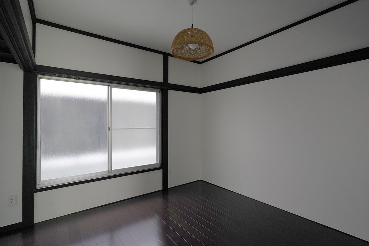 (101号室)奥の部屋にはエアコンはつけられません(102号室も同様)