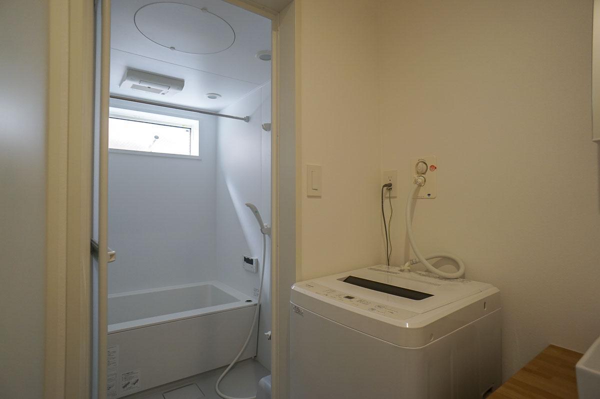 2階浴室まわり