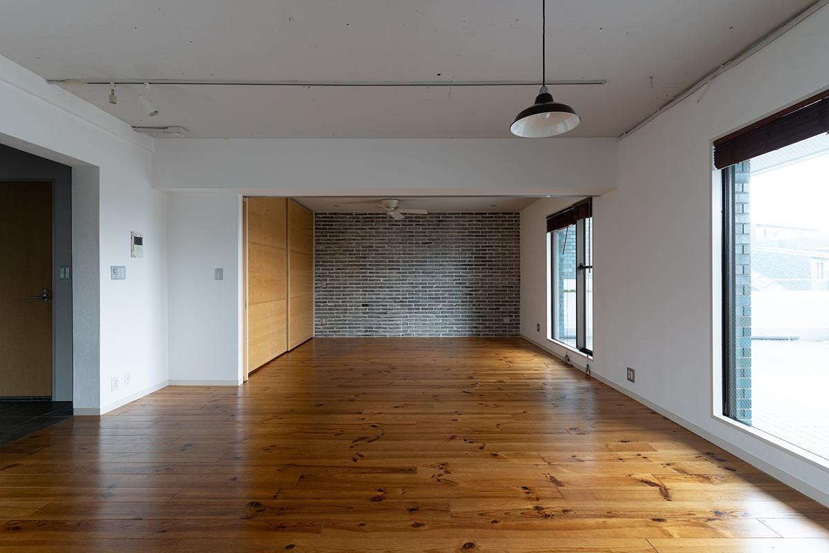 廊下がないこともあり、かなり広々とスペースが使えます