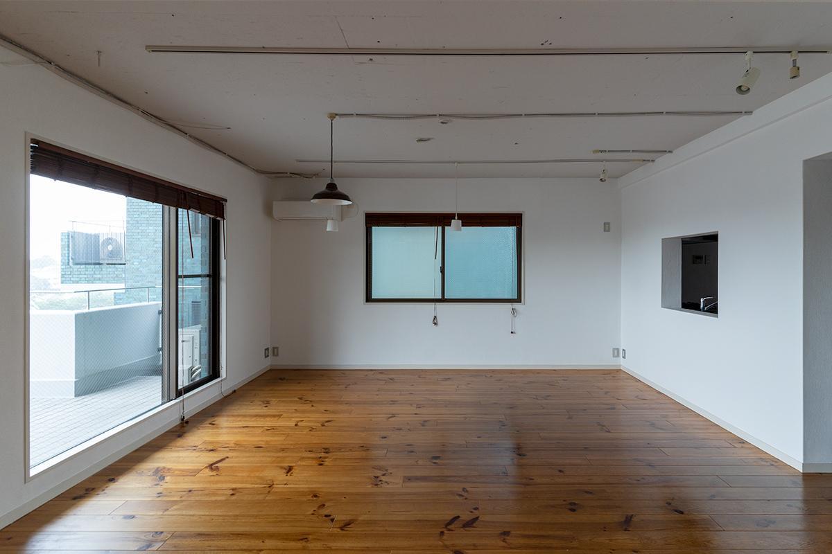 このあたりがダイニングスペースのイメージです