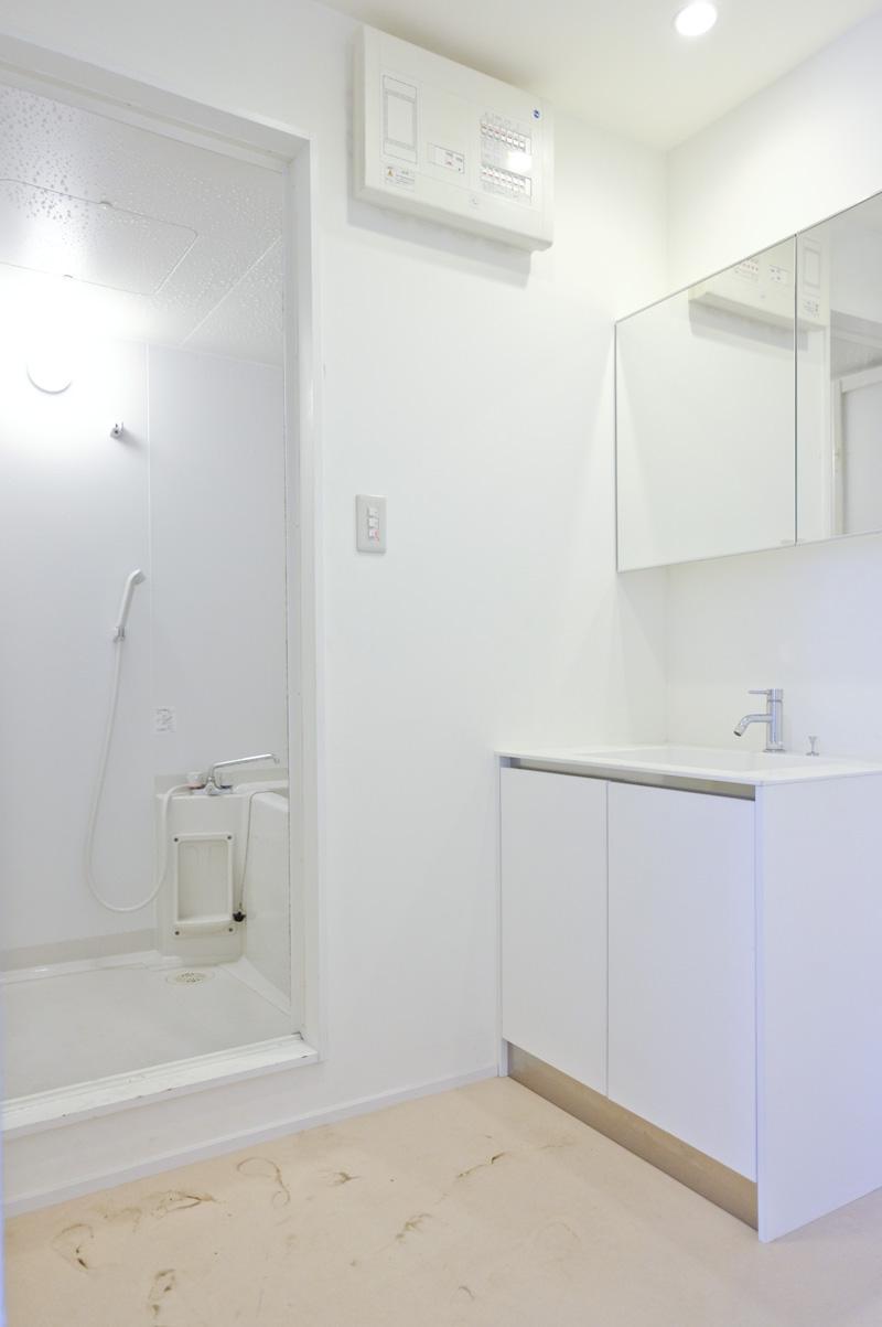 2階洗面台・脱衣所