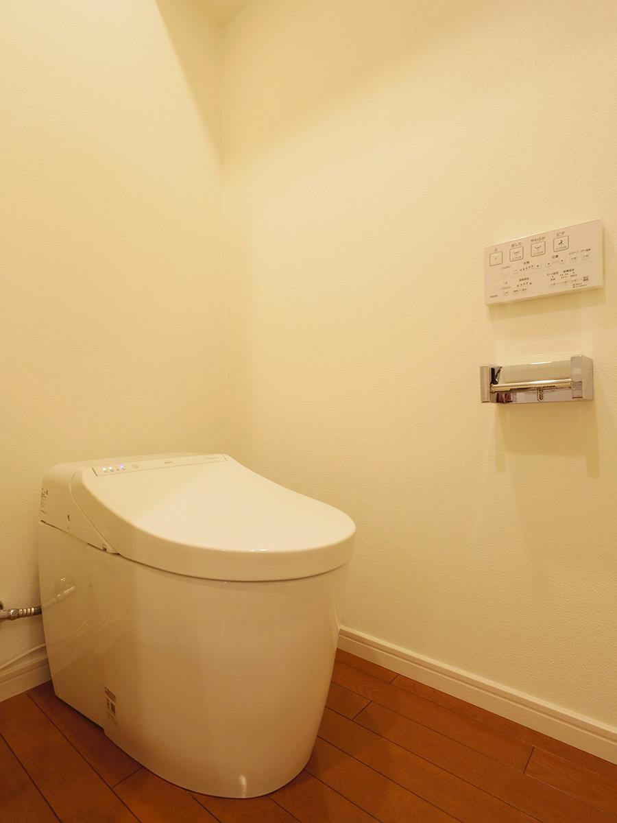 スッキリしたトイレ