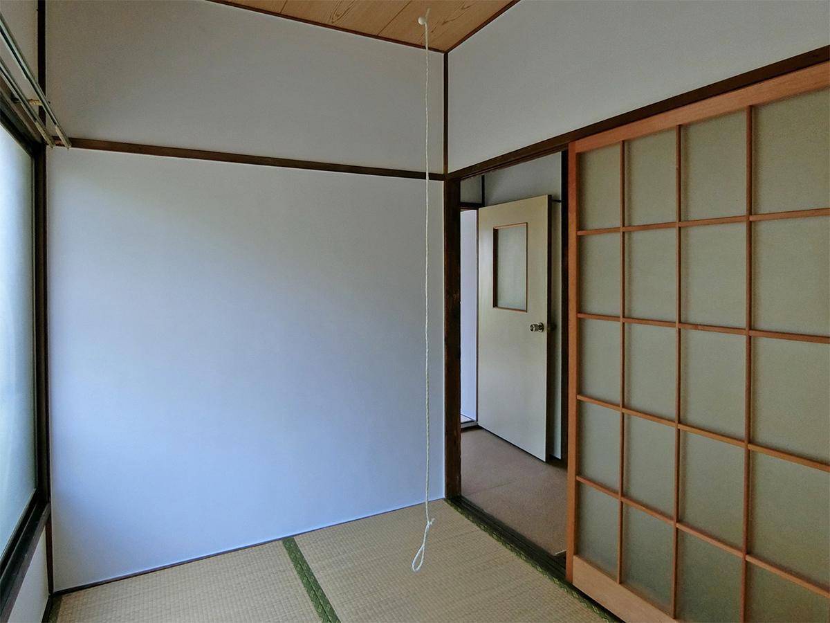 2階3畳の和室。おこもり仕事スペースに