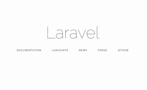 Laravel初期ページ