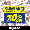 【CLEARANCE SALE max70%OFF】Right-on(ライトオン)