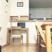 無印良品「コの字の家具」を縦置きにして快適な作業スペースに - シンプルライフ。充実生活。