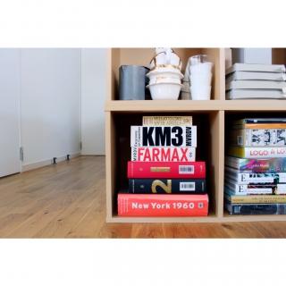 本棚のカラーボックス