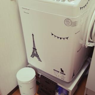 洗濯機のステッカー