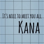 Kanaさんのお部屋