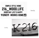 216_WOOD.LIFEさんのお部屋