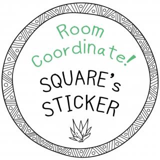 SquareWallstickerさんのお部屋